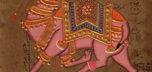 India-Camel-Painting-Old-Stamp-Paper-Original-Handmade-Rajasthan-Ethnic-Folk-Art-190777036265-2